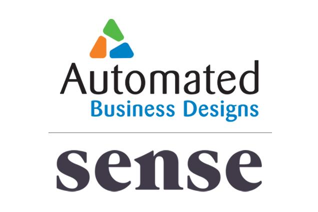 ABD and Sense Partnership Logo