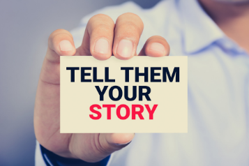Tell a Story and Be Specific
